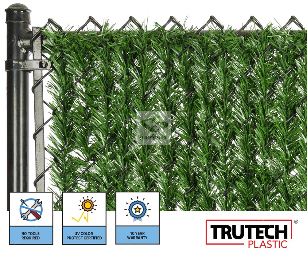 Chain Link Hedge Slat