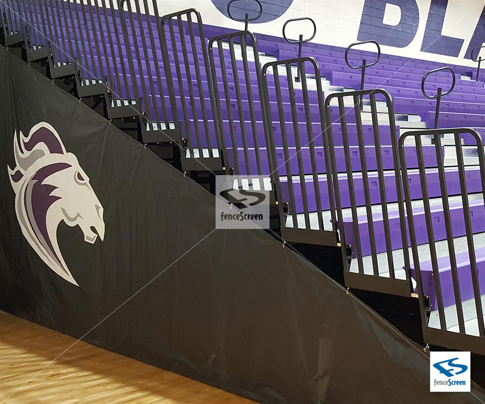 Indoor Bleacher Wraps