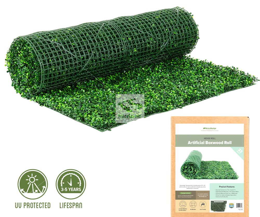 Artificial Boxwood Hedge Roll