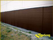 200 Series Enviro Privacy Fence Screen - Brown