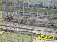 1100 Series - Batting Cage Netting - Black