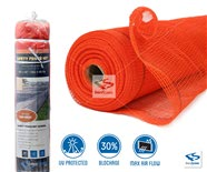 1300 Series - Safety Debris Netting Roll, Safety Orange