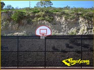500 Series - VCP Tennis Court Fence - Black