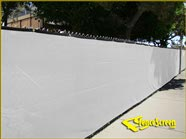 200 Series Enviro Privacy Fence Screen - White