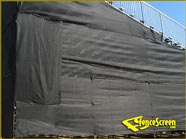295 Series -Privacy Air - Construction Site - Black