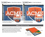 Baseball Ball Field Fence Banners and Signs - Mesh vs Vinyl