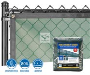 500 Series Baseball PVC Fence Screen - MAXFlex Mesh Vinyl 80% Install and Product