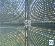600 Series - Open Mesh Poly - Close up on Tennis Court