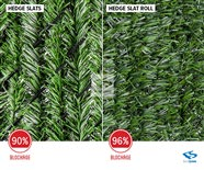 Hedge Slat & Hedge Slat Roll Comparison