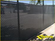 600 Series -Open Mesh Poly Construction Site - Green