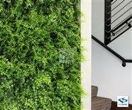 Artificial Fern In Office Lobby