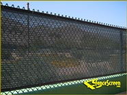 600 Series -Open Mesh Poly- Parking Lot - Green