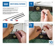 FenceScreen Fasteners Installation Guide