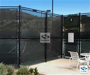 Green Tennis Privacy Screen