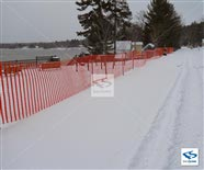 Snow Safety Netting