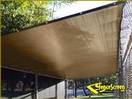 2000 Series - Sun Shade Cover Zoo - Tan