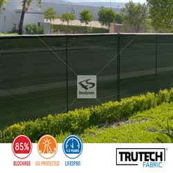 130 Series - Green Privacy Screen