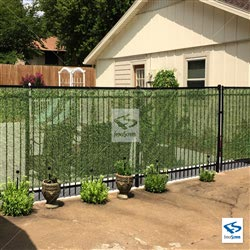 Solid Hedge Pool Surround