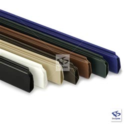 Slat Bottom Locking Channel in 7 Colors