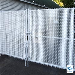 4000 Series - White Fence Tube Slats