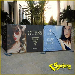 411 Series - Mall Advertising Wrap - Solid