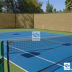 Desert Sand Tennis Court Privacy Screen