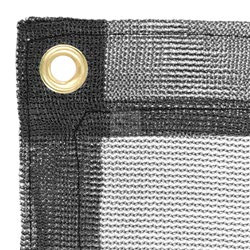 Construction Tarp Jet Black
