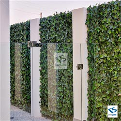 Faux Ivy Wall