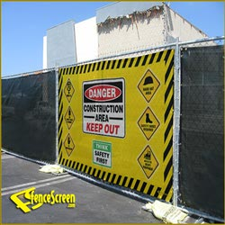 FenceScreen Safety Gate - Yellow 5