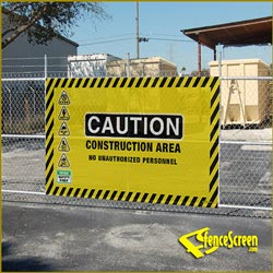 FenceScreen Safety Gate - Yellow 3