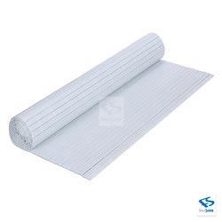 White - Balcony Privacy Slat Roll