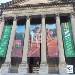 Museum Building Banners