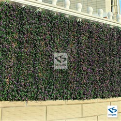 Lavender Hedge Mat Outdoor Installation