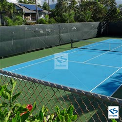 Tennis Windscreen With Wind Vents