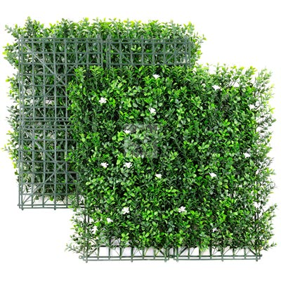 Artificial Myrtle Flower Mat - NatraHedge® Myrtle