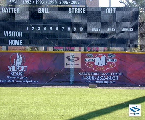 Baseball Banners Amp Signs For Outfield Fence Dugout
