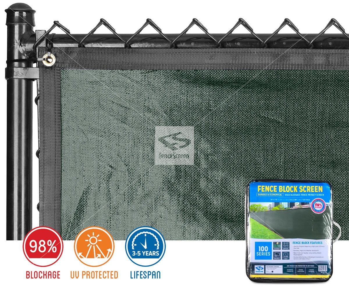 High Blockage Fence Privacy Screen 100 Series 98 By