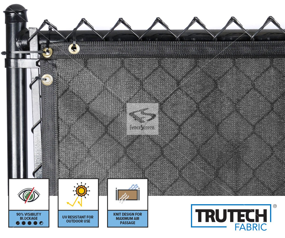 Fence Privacy Screen For Chain Link 90 Blockage Fencescreen