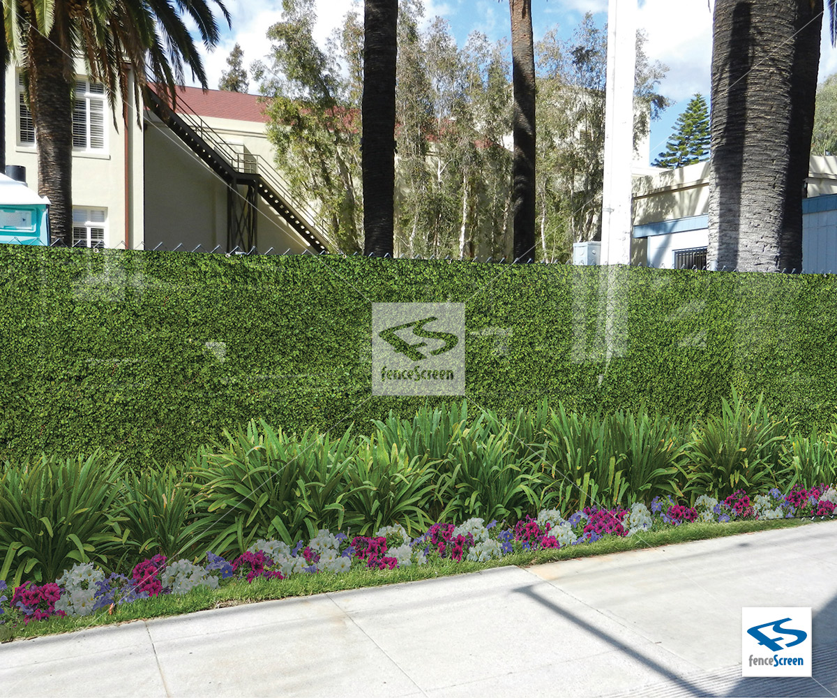 Pre Printed Graphic Outdoor Fence Screen Amp Covers