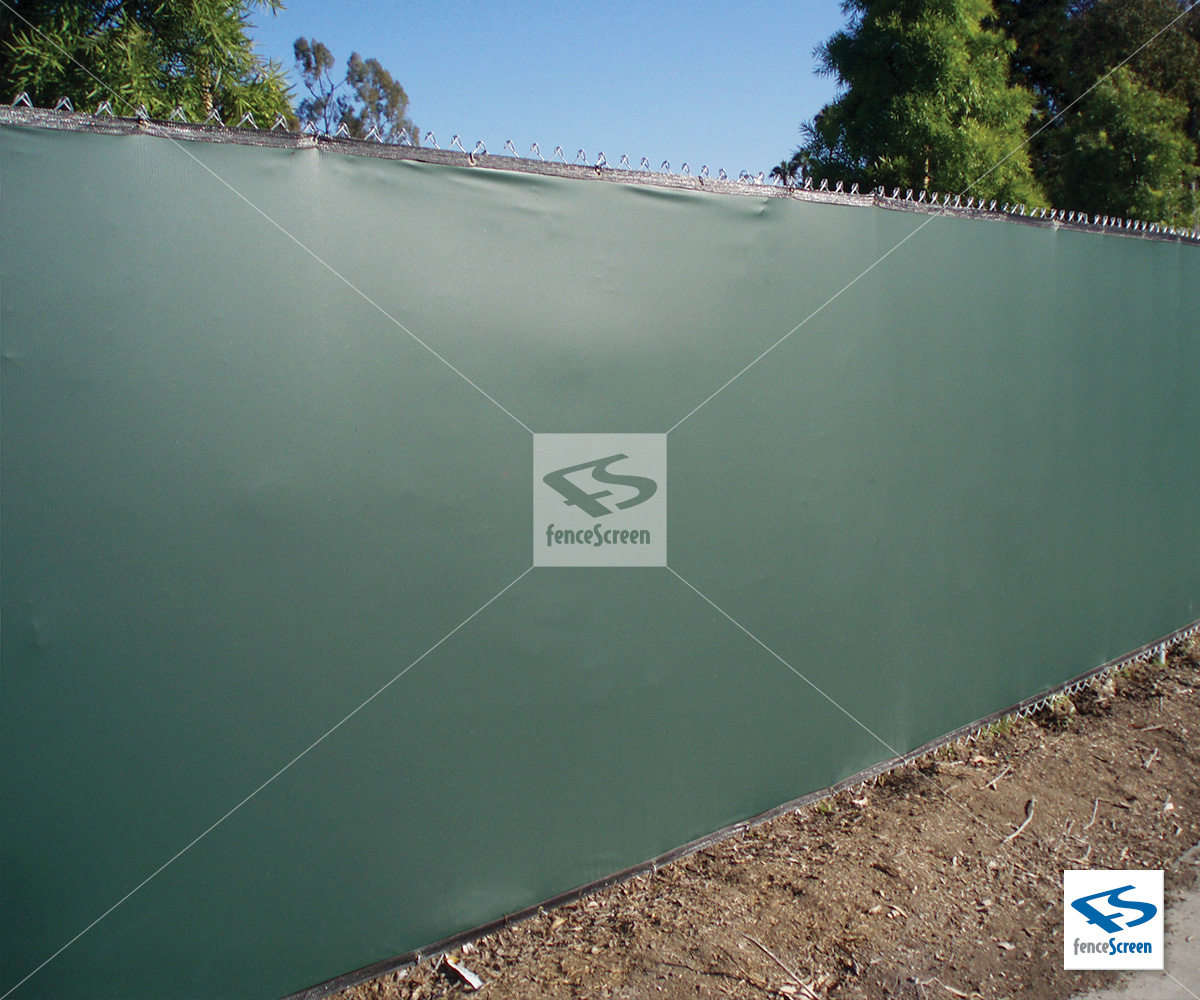 Solid Vinyl Privacy Fence Fabric Screen Factory Direct