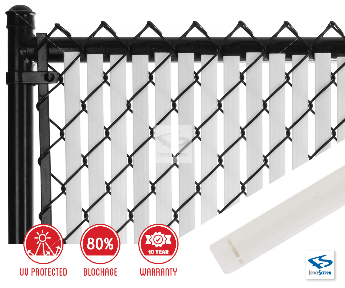 Dura Slat With Bottom Lock For Chain Link Fence