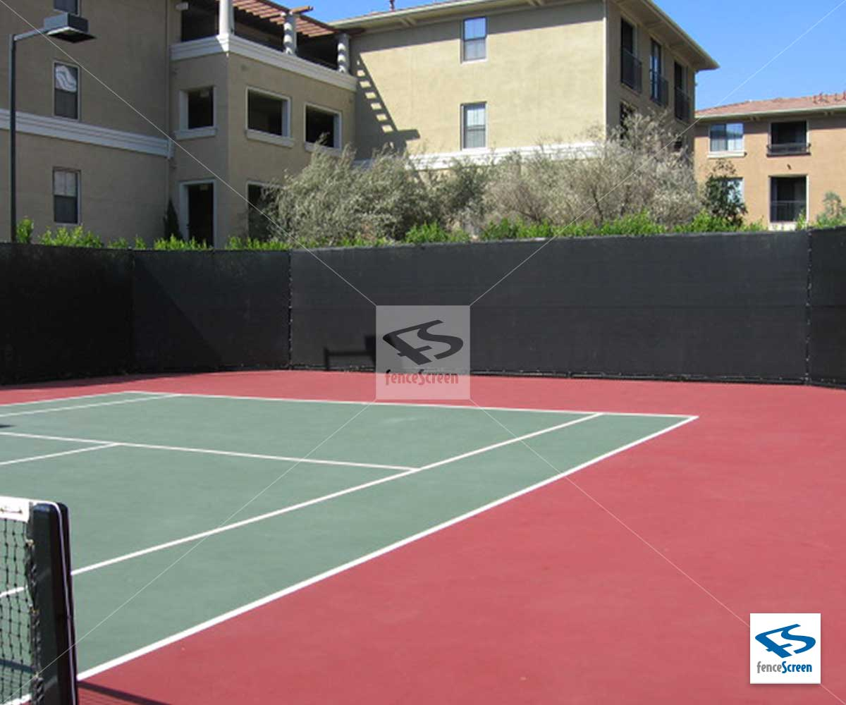 Tarps For Sale >> Tennis Court Privacy Screen - PRO Closed Mesh ...