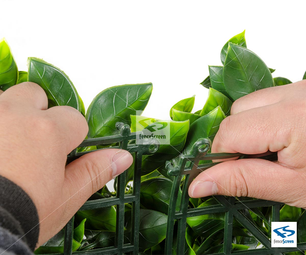 Artificial Ficus Leaf Mat Panels From Natrahedge 174