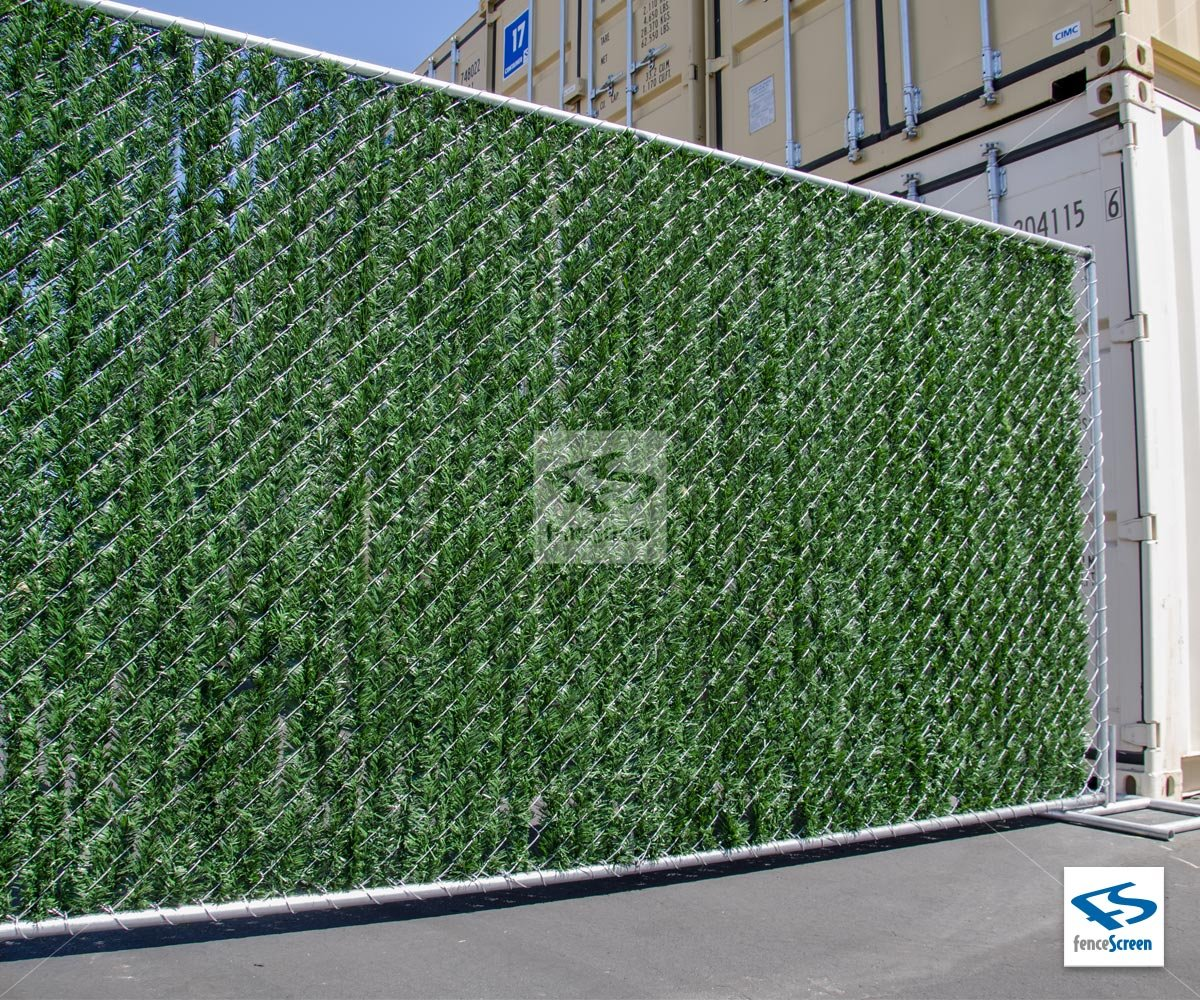 Privacy screen for chain link fences - Privacy Hedge Slat For Fence