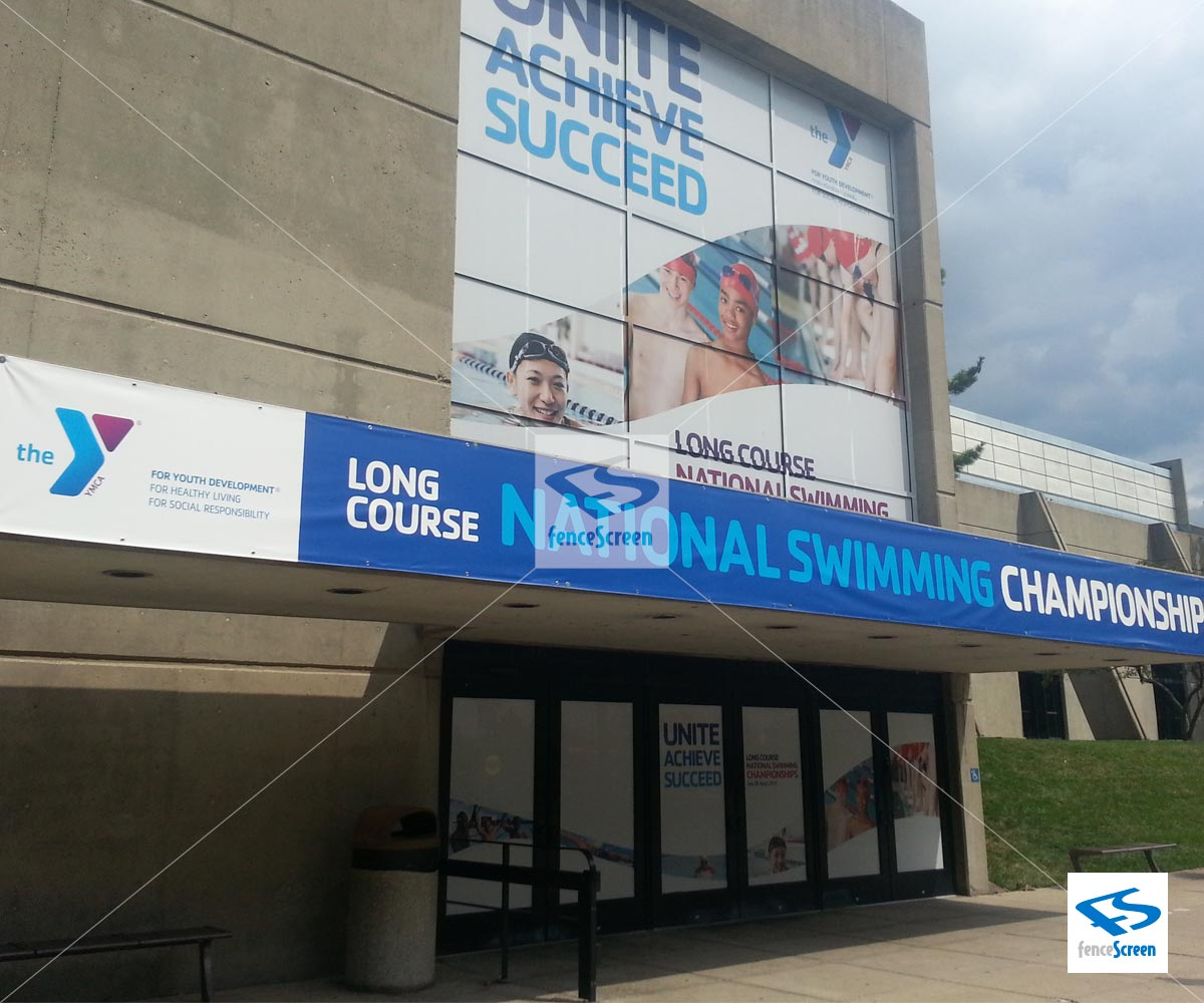Large Custom Outdoor Banners Amp Advertising Signs