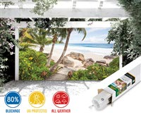 Stairs to Paradise Patio Screen-212 Series 80%