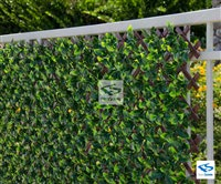 Artificial Ficus Privacy Fence - NatraHedge® Trellis
