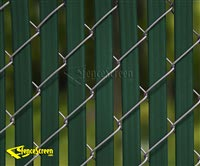 4000T Fence Slats -Top Lock Double Wall 75% Privacy
