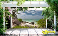 Paradise Cove Patio Screen-212 Series 80%