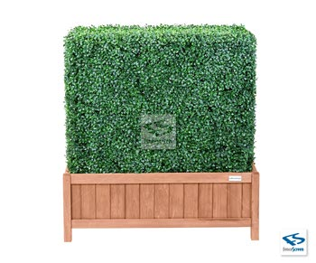 Artificial Boxwood Hedge with 15